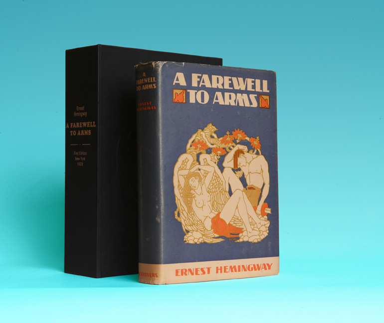 A Farewell To Arms 1st Edition1st Printing Ernest Hemingway Books Tell You Why Inc
