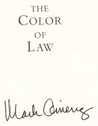 The Color of Law - 1st Edition/1st Printing | Mark Gimenez ...