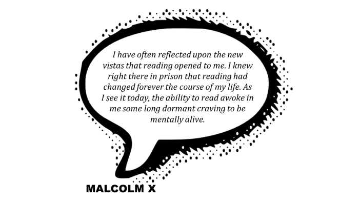 malcolm x literacy behind bars