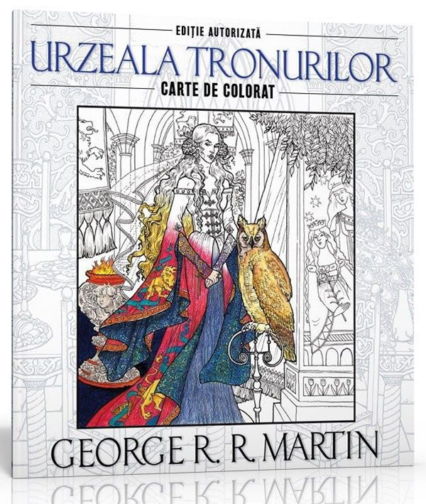Urzeala tronurilor. Carte de colorat