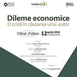 dileme economice