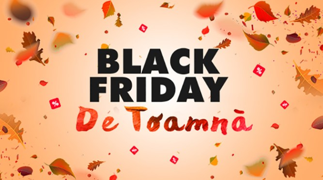 Black Friday de Toamnă