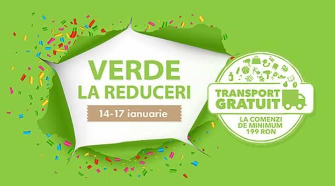 Verde la Reduceri