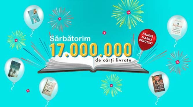 milioane de cărți