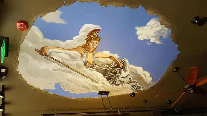 Goddess Murals Adorn Wisconsin's New InkLink Books | the American ...