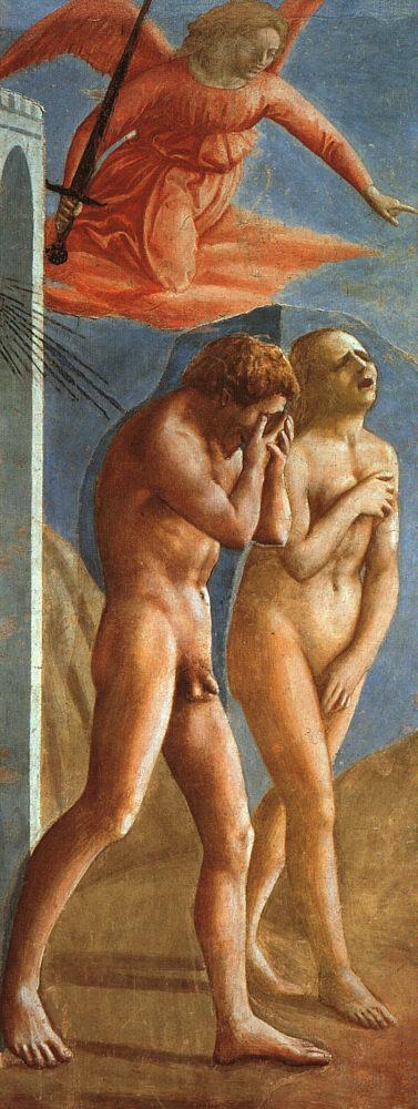 Masaccio's Explusion from the Garden of Eden