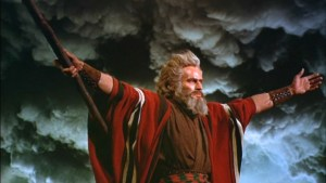 Passover Charlton Heston as Moses