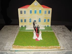 Gay marriage wedding cake photo by Giovanni Dall'Orto, 26-1-2008.