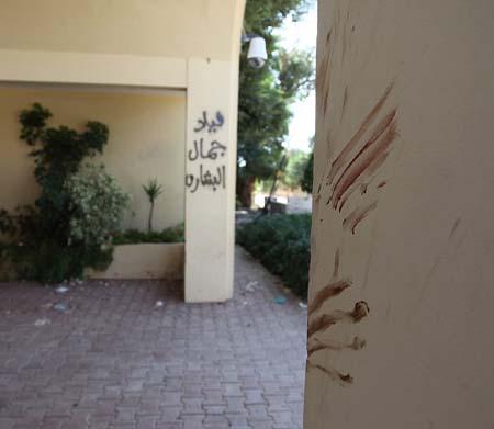 Bloody fingerprints in Benghazi