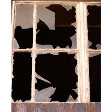 A broken window is not an economic upswing