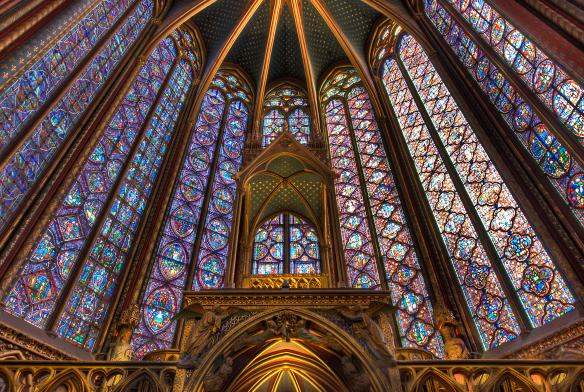 Interior Sainte-Chapelle, Paris