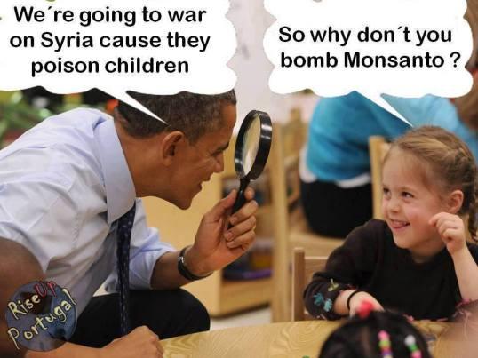 Obama should bomb Monsanto