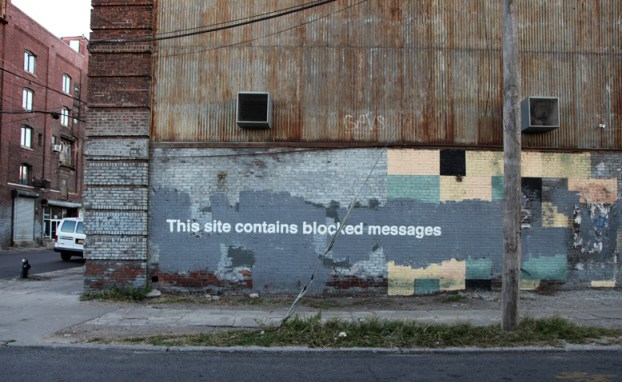 Banksy censorship illustration