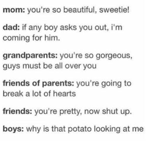 The teenage world view