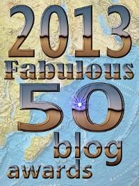 Fabulous 50 blog awards winner