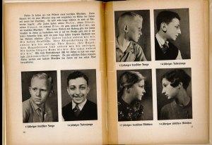 "Nazi science book ""proving"" Aryan superiority"