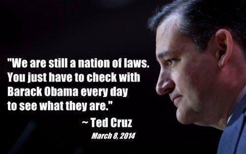 Cruz on obama's laws