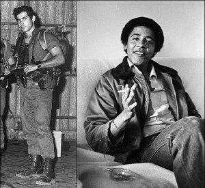 Young Obama Young Bibi and Bib Netanyahu