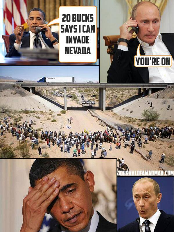 The Putin-Obama bet