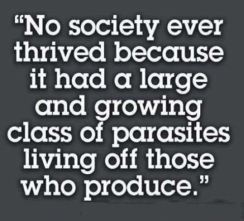 Political parasites