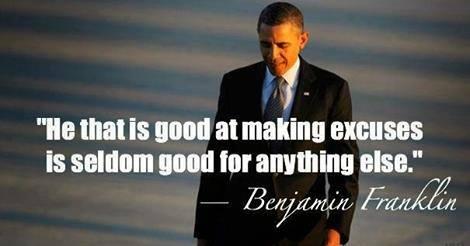 Good at making excuses