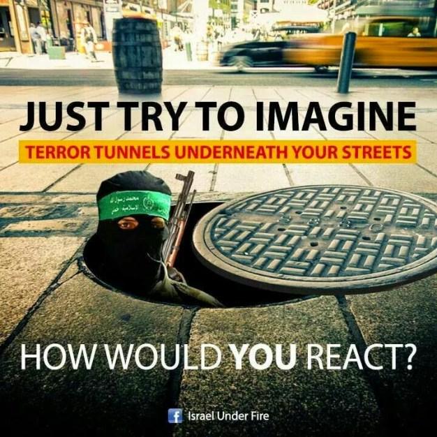 Terrorist tunnels under your street