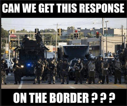 Proper border response