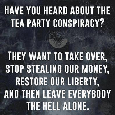 The Tea Party Conspiracy