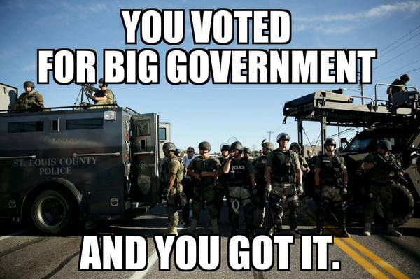 You voted for big government