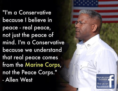 Allen West and the Marine Corps