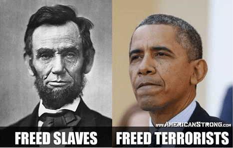 Freed slaves Freed terrorists
