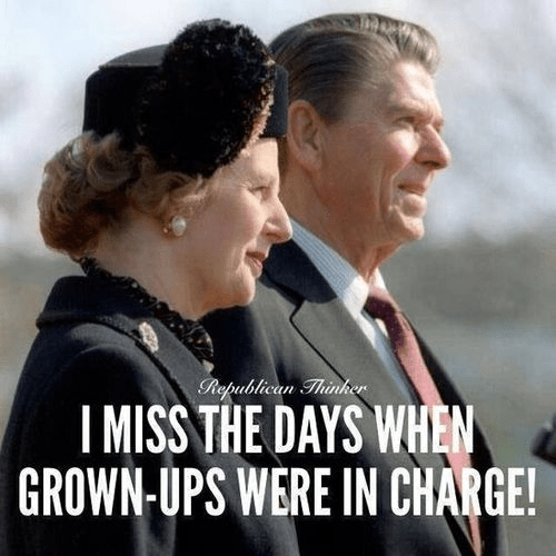 Grown-ups in charge