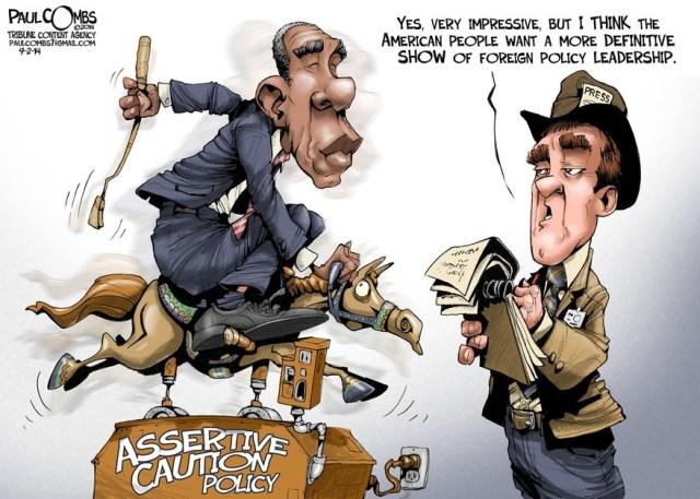 Obama's idea of leadership