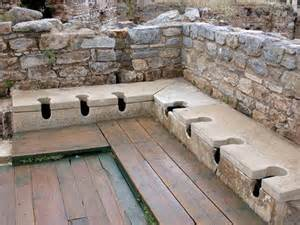 Roman toilet at Ephesus