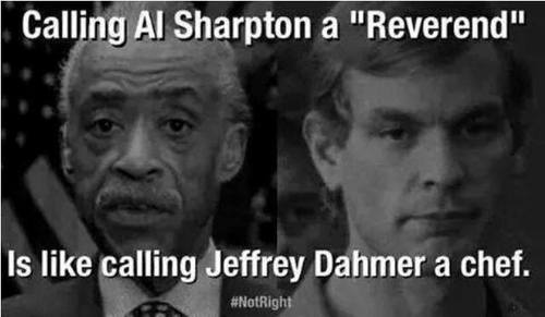 Al Sharpton and Jeffrey Dahmer