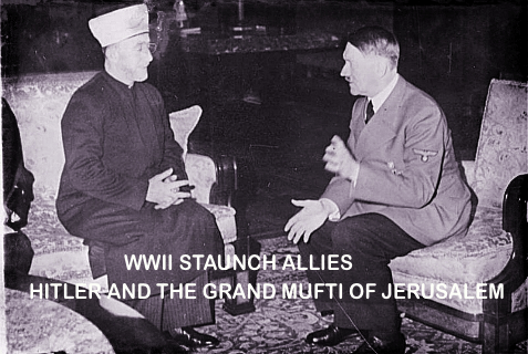 Allies during WWII Hitler and the Grand Mufti