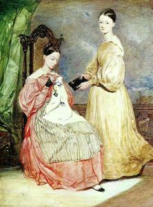 Florence Nightingale and her sister Parthenope