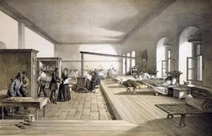 The hospital in Scutari, circa 1856
