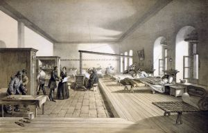 The hospital in Scutari, circa 1856