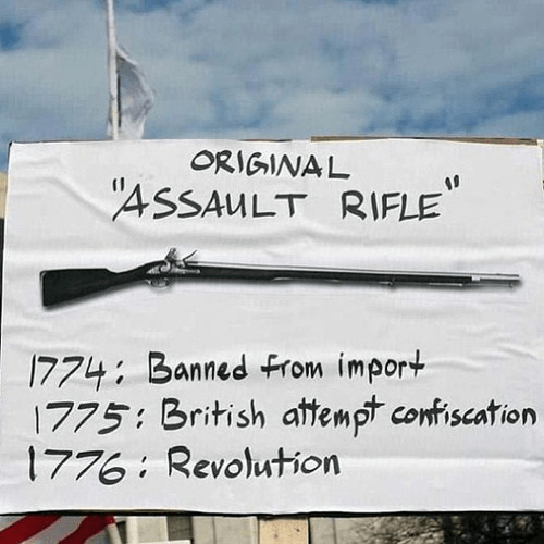 The original assault rifle from the Revolution