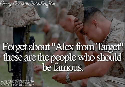 Military The people who should be famous