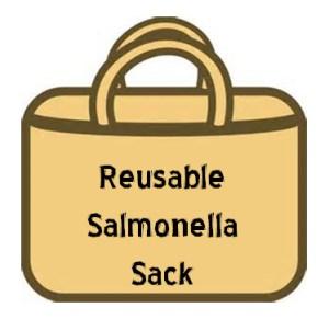 Reusable salmonella sack