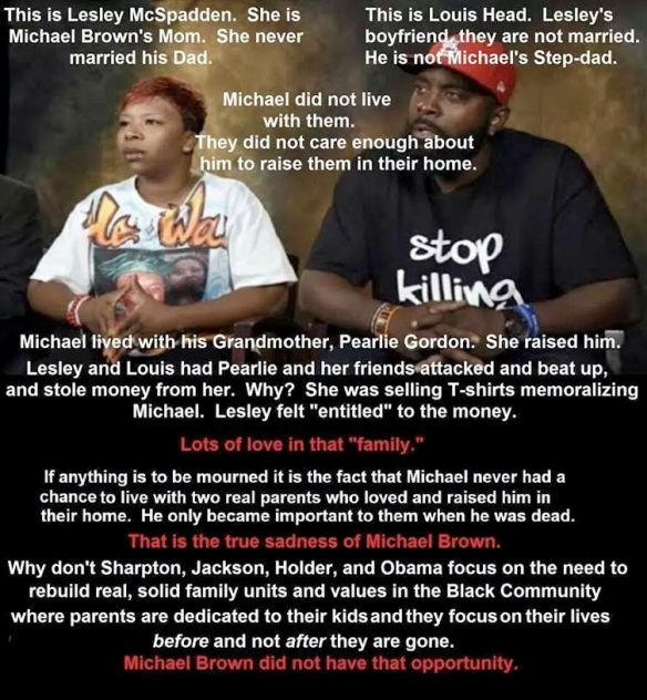 The real tragedy of Michael Brown