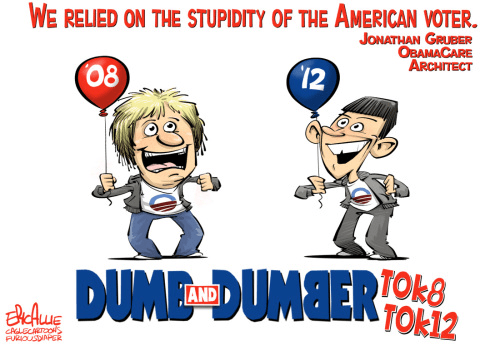 The stupidity of the American voter says Gruber
