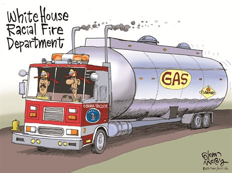 White House racial fire department