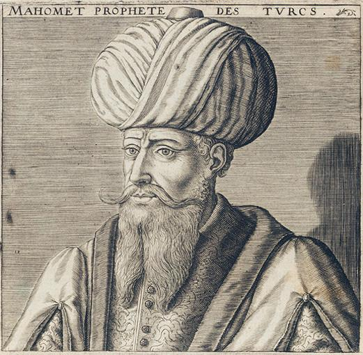17th century French picture of Mohamed