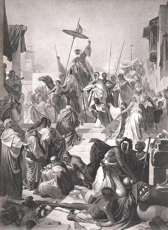 19th century photogravure of Mohamed