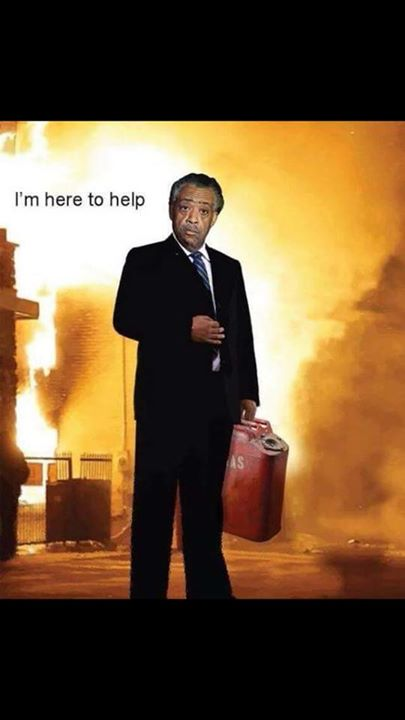 Al Sharpton here to help