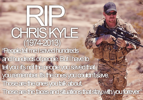 Chris Kyle haunted by American lives he couldn't save
