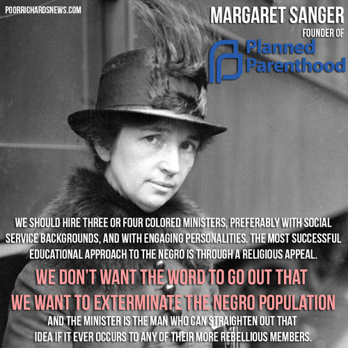 Margaret Sanger on her eugenics plans